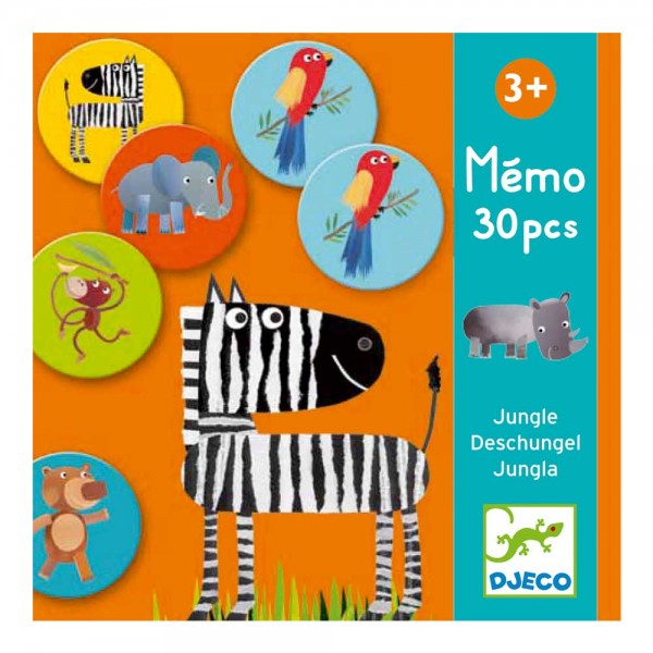 Djeco Memo - Jungle