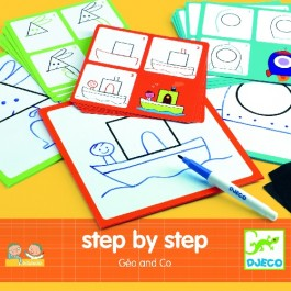 Djeco Step by Step - Geo and Co