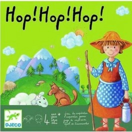 Djeco Επιτραπέζιο - Hop Hop Hop  ΕΚΠΑΙΔΕΥΤΙΚΑ ΠΑΙΧΝΙΔΙΑ