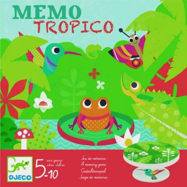 Djeco Games Memo Tropico