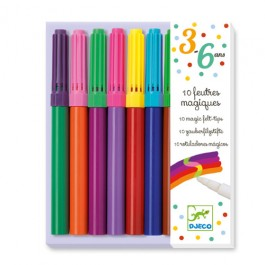 Djeco 10 magic felt tips