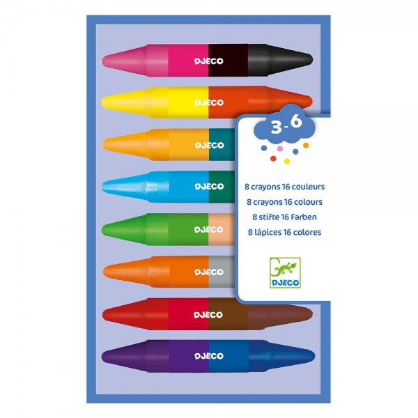 Djeco Duble Ended Colors for kids