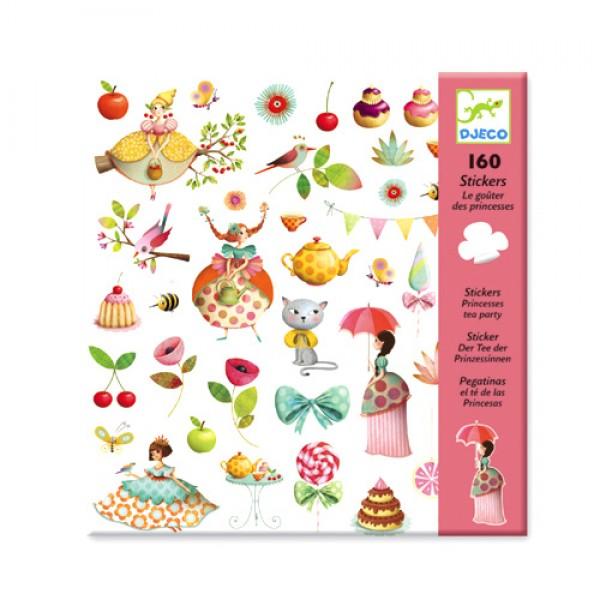 Djeco Stickers - Tea with Princess