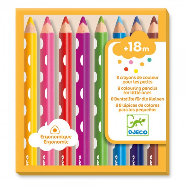 Djeco Colouring Pencils for little ones