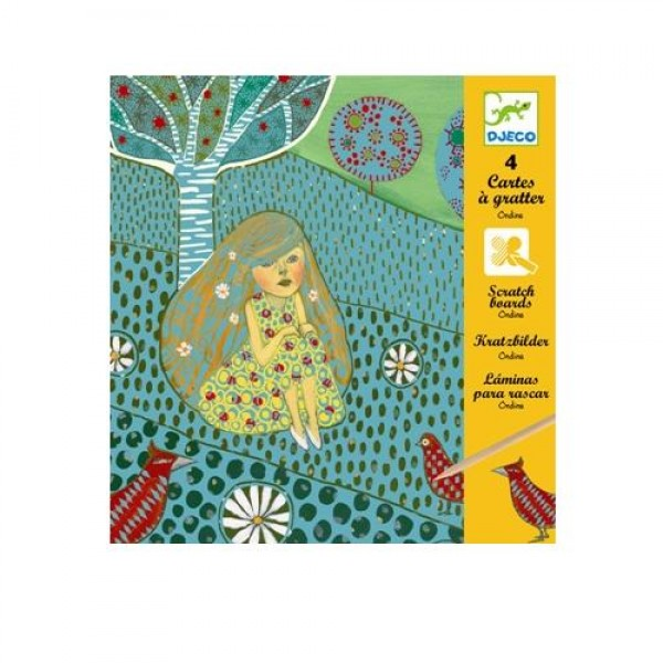 Djeco Scratch cards Ondines