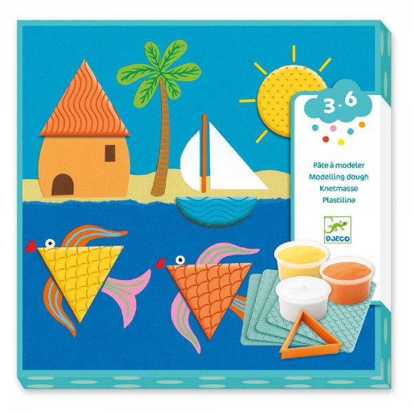 Djeco 3 to 6 years - Modelling Prints and shapes
