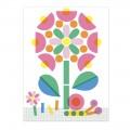 Djeco Ζωγραφίζω με σφραγίδες και στένσιλ 'Ζωάκια και λουλούδια' Ζωγραφική