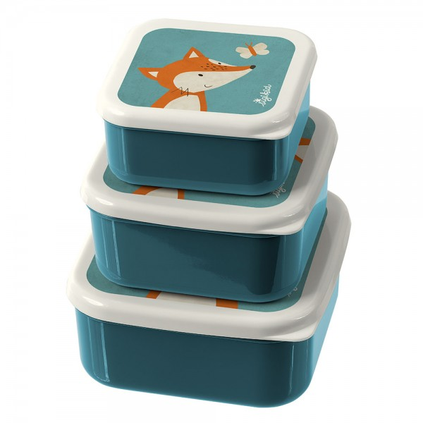 Sigikid 3 snack boxes fox, The little ones