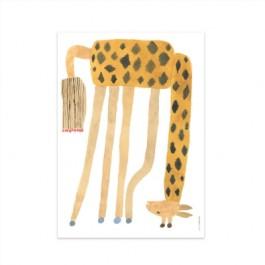 OYOY Poster - Noah the Giraffe