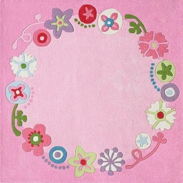 Haba Kid Rug - Flower