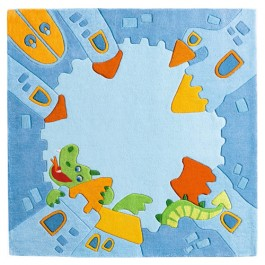 Haba Kids Rug - Knights Castle