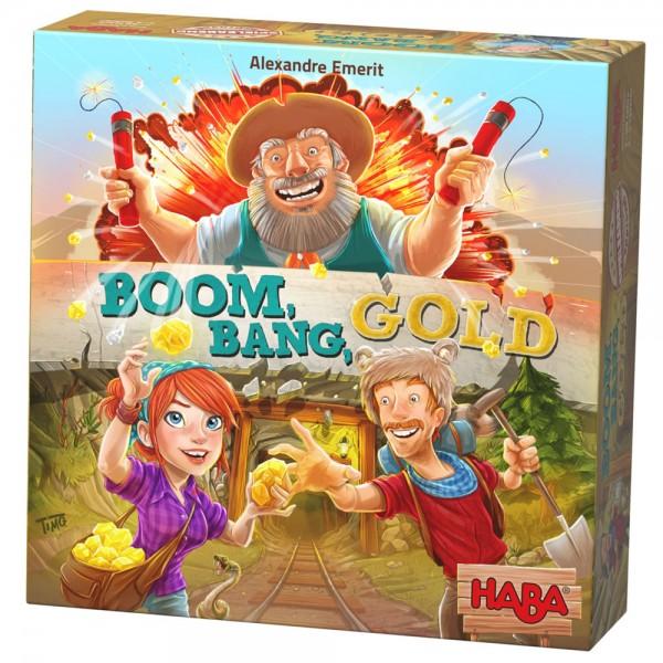 Haba Επιτραπέζιο Boom, Bang, Gold ΕΚΠΑΙΔΕΥΤΙΚΑ ΠΑΙΧΝΙΔΙΑ