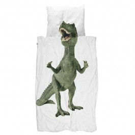 snurk duvet cover - dino, snurk, eco friendly kids, snuck duvet cover, snuck organic, cowmakesmoo,