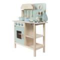 LITTLE DUTCH. Ξύλινη κουζίνα παιχνιδιού με 8 αξεσουάρ (φυσικό-απαλό πράσινο) ΕΚΠΑΙΔΕΥΤΙΚΑ ΠΑΙΧΝΙΔΙΑ