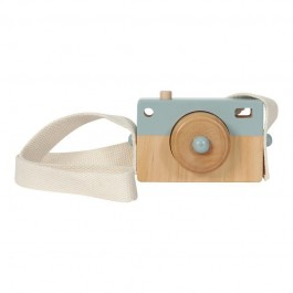 LITTLE DUTCH. wooden camera toy - blue