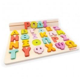 Svoora Παίζω με τα γράμματα - Ελληνικό ξύλινο αλφάβητο με 50 κάρτες ΕΚΠΑΙΔΕΥΤΙΚΑ ΠΑΙΧΝΙΔΙΑ