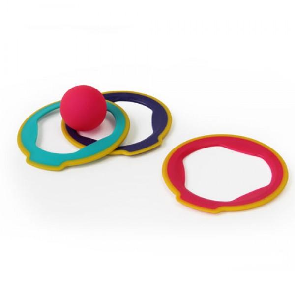 QUUT Κρίκοι & Μπάλα για παιχνίδια στην άμμο, κουβαδακια, παιχνιδια στη θαλασσα, καλοκαιρινα παιχνιδια, οικολογικα παιχνιδια,