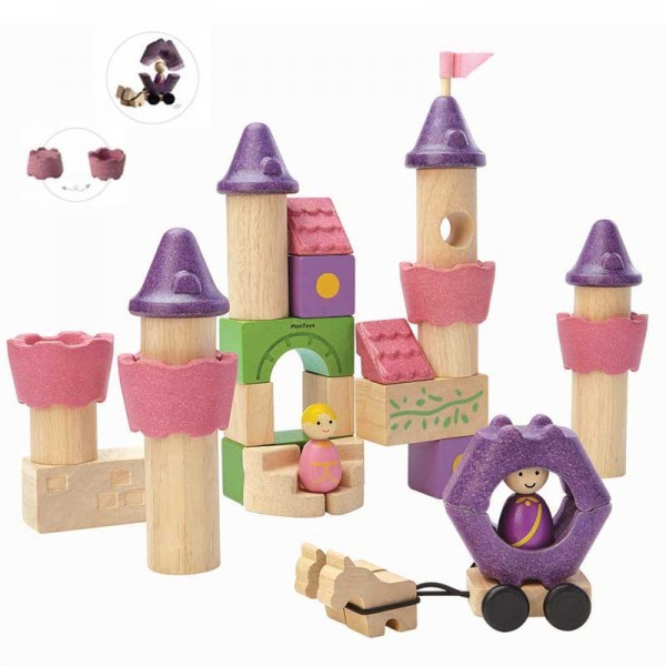 Plan toys Wooden Castle