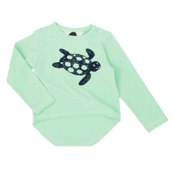 Koolabah Μπλούζα απο οργανικό βαμβάκι - Turtles, οικολογικα ρουχα, παιδικα ρουχα απο οργανικα βαμβακι, βρεφικα ρουχα,