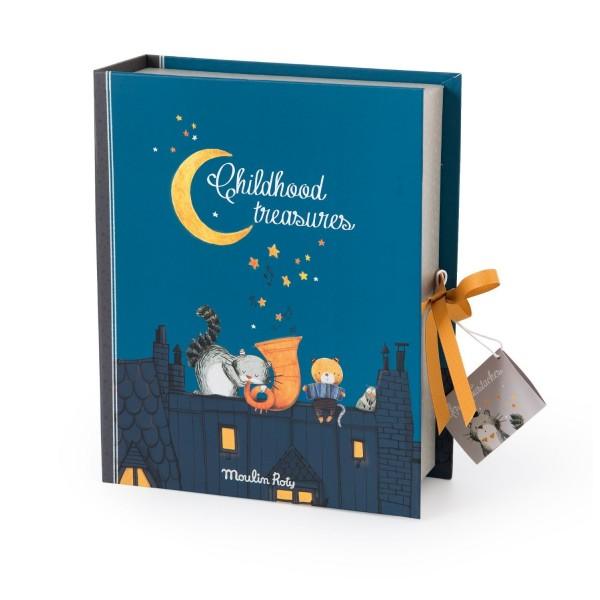 Keepsake box Les Moustaches (English version) Moulin Roty