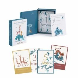 Moulin Roty Κάρτες για αναμνήσεις των 12 πρώτων μηνών του μωρού