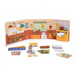 Moulin Roty Βαλιτσάκι παιχνίδι - Ταχυδρομείο