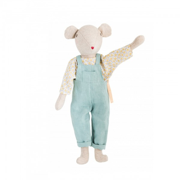 Soft toy Chicoré the Daddy mouse Moulin Roty