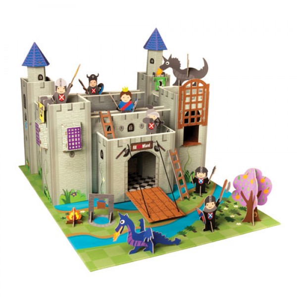 Playset kinghts castle with figures