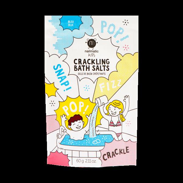 Nailmatic Crackling bath salt (blue)