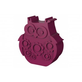 Blafre Lunch Box Eco Friendly - Purple Owl