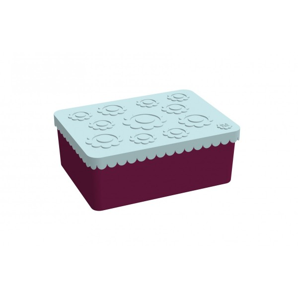 Blafre Lunch Box - Plum Red, eco friendly kids products, lunch boxes snack boxes, back to school,