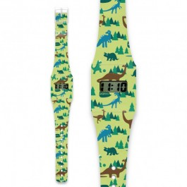 Pappwatch for kids - DINOMYTE, cow makes moo, paper watches, dinosaur, kids watches, eco friendly, kids accessories, pappwatch, i like paper