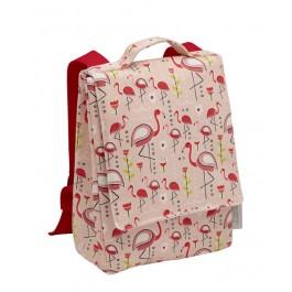 Sugar Booger Backpack for kids - Flamingo, sugar booger, eco friendly backpacks, cow makes moo, eco friendly kids products, backpacks for kids, back to school, school bags, kindergarten bags,
