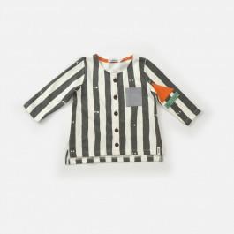 Οργανική μπλούζα Indikidual - Peep ΚΟΡΙΤΣΙ