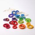 Grimm's Building Rings Rainbow