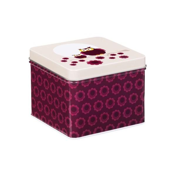 Blafre metallic square box Owl