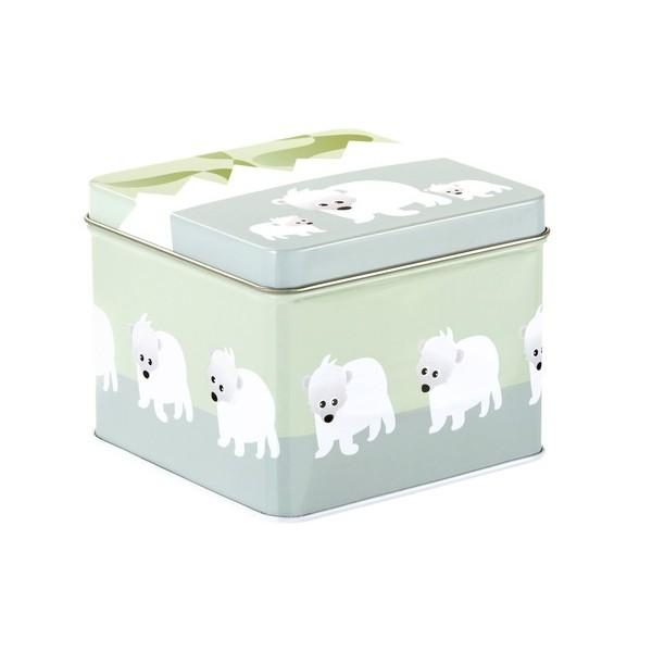 Blafre metallic square box polar