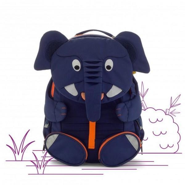 AFFENZAHN Kids Backpack Eco Friendly - Elias Elephant, eco friendly backpack for school, kid backpack, school bags, kindergarten backpacks, first backpack for kids, backpacks for boys, backpacks for girls,