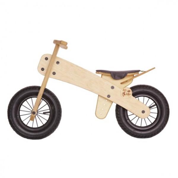 Dip Dap Wooden Balance Bike - Natural, balance bike, balance bicycle, bike for kids, wooden bike for kids,