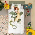 SNURK DRAGON DUVET COVER, snurk, eco friendly kids, snuck duvet cover, snuck organic, cowmakesmoo,