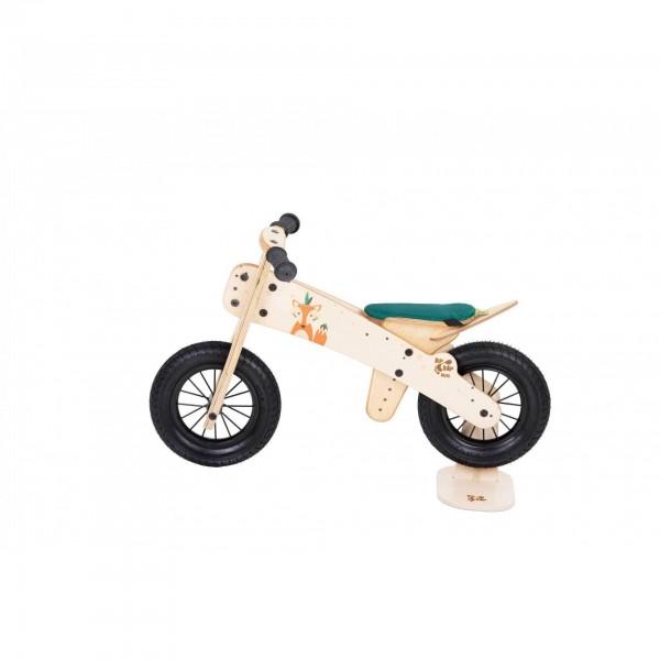 Dip Dap Wooden Balance Bike MINI - Fox, balance bike, balance bicycle, bike for kids, wooden bike for kids,