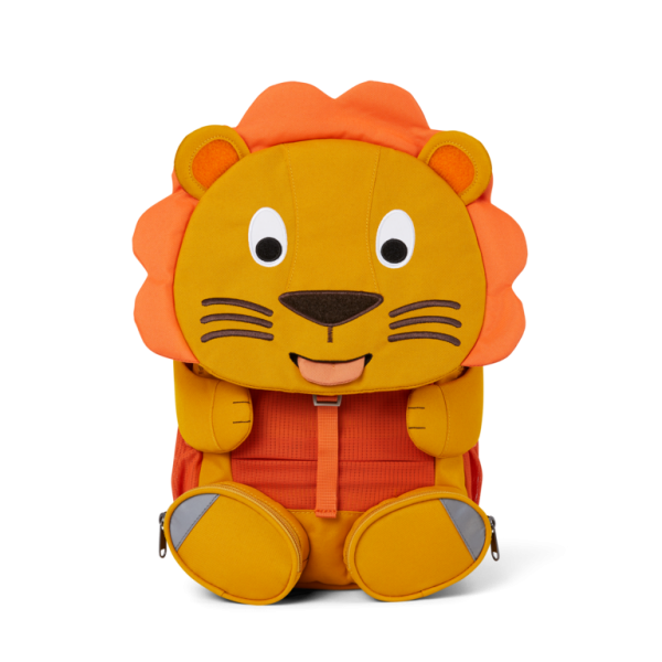 AFFENZAHN Eco Friendly Kids Backpack - Lion, eco friendly backpacks, bags of school, bags for kindergarten, bags for preschool,