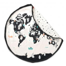 Play and Go Storage bag & Playmat - Worldmap