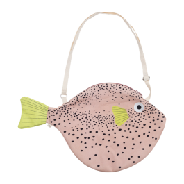 Don Fisher Bag - Pink Pufferfish