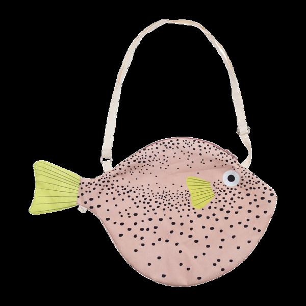 Don Fisher Bag - Pink Pufferfish