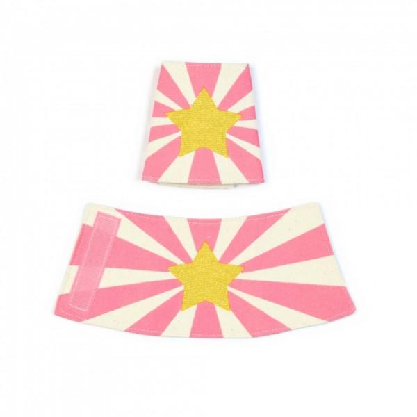 Super Hero Cuffs - Pink