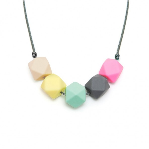 Lara & Ollie Teething Necklace - BELLA, lara and ollie, lara & ollie, teething necklace, eco friendly, stylish jewelry for mums, stylish jewelry,