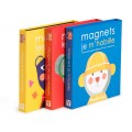Magnetic game Getting dressed Les Popipop Moulin Roty