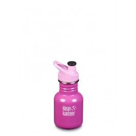 Klean Kanteen Stainless Steel Sippy Kids water Bottle - Bubble Gum