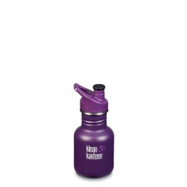 Klean Kanteen Stainless Steel Sippy Kids water Bottle - Grape Jelly